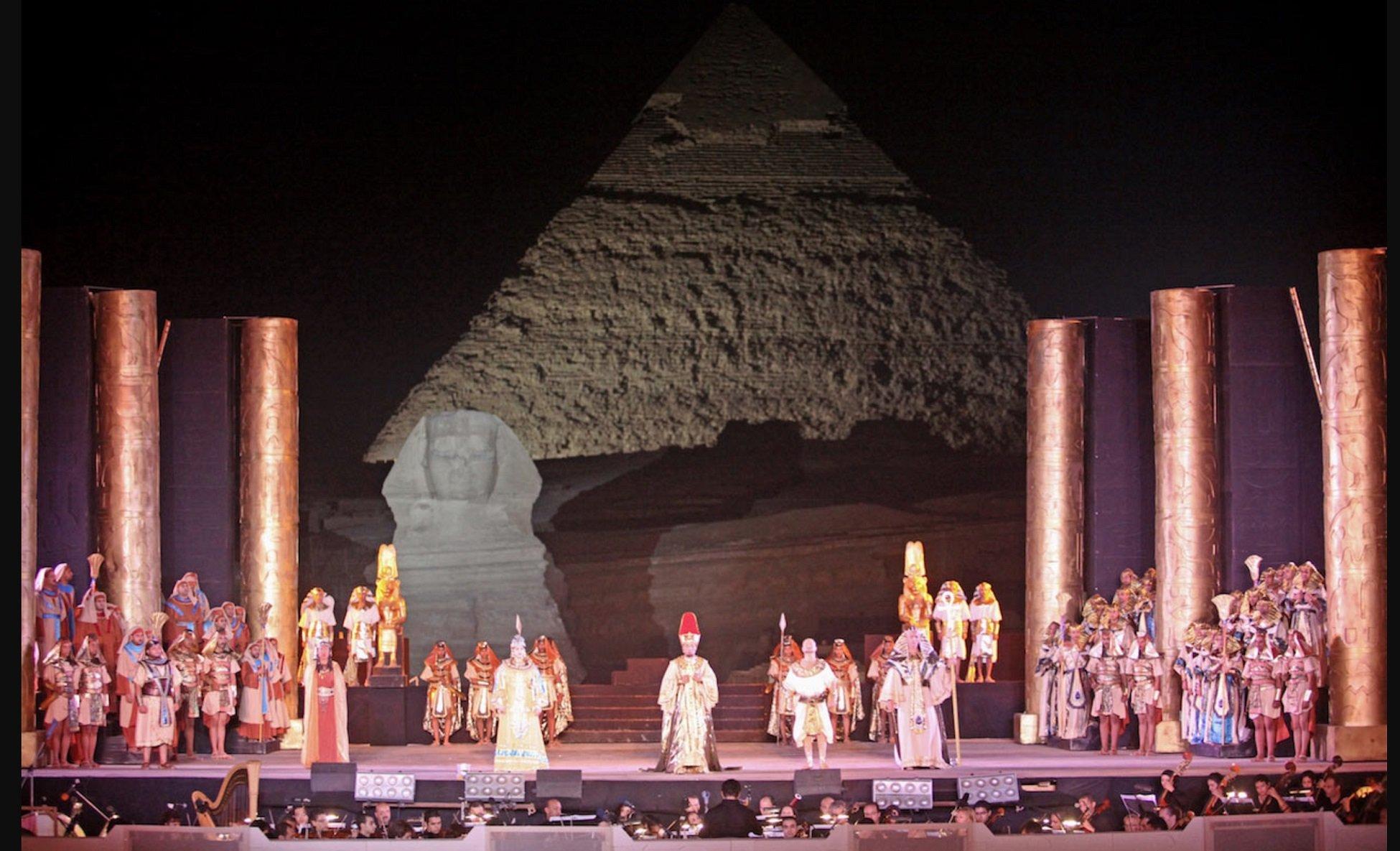 Opera Aida Verdi Tour include Nile Cruise