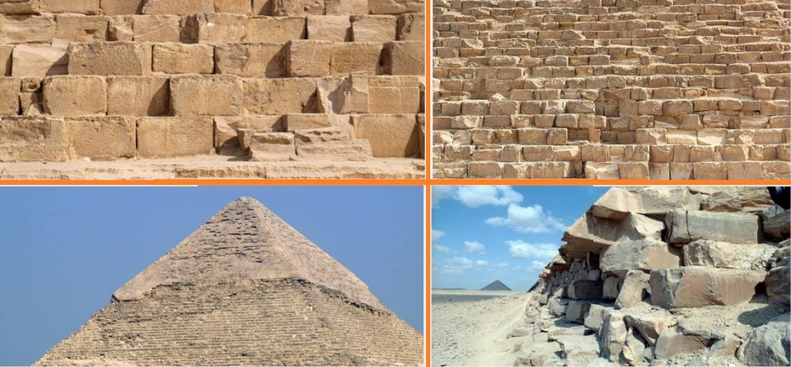 Egyptian Pyramids Up Close