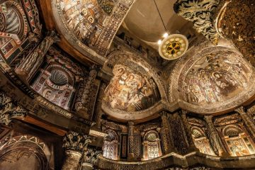 most famous Christianity treasure in Egypt